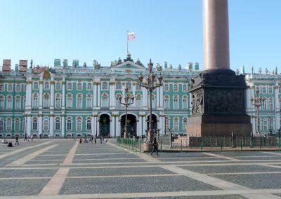 Palastplatz in Sankt Petersburg