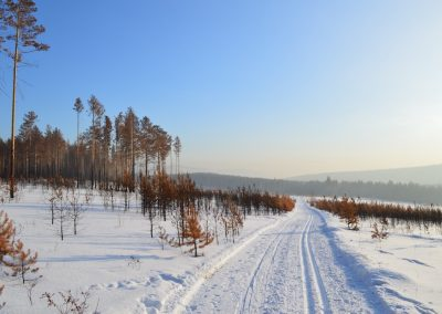 Russischer Winter