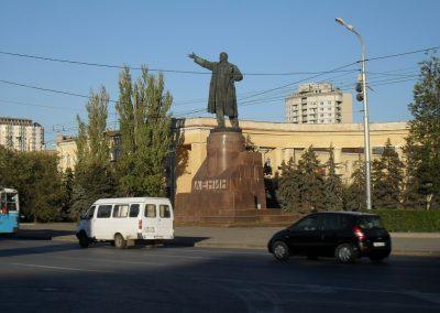 Wolgograd, Lenin Denkmal