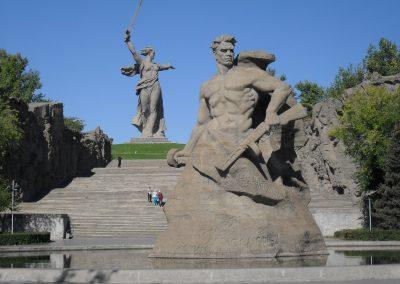 Wolgograd, Denkmäler